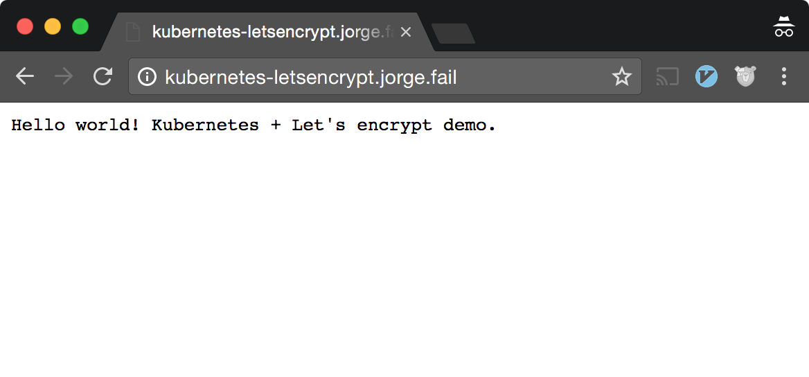 How To Use Let's Encrypt on Kubernetes to Automatically